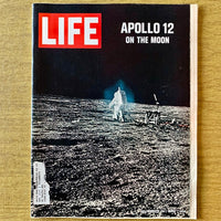 Life Magazine: Apollo 12, December 12, 1969 - Books Above the Bend