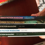 Lot of 82 Issues Isaac Asimov's SciFi Mag | 1977 - 1991 - Books Above the Bend