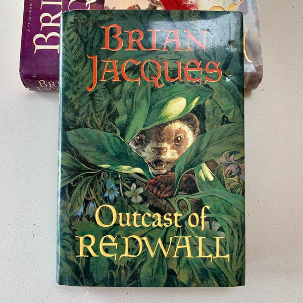Outcast of Redwall - Books Above the Bend