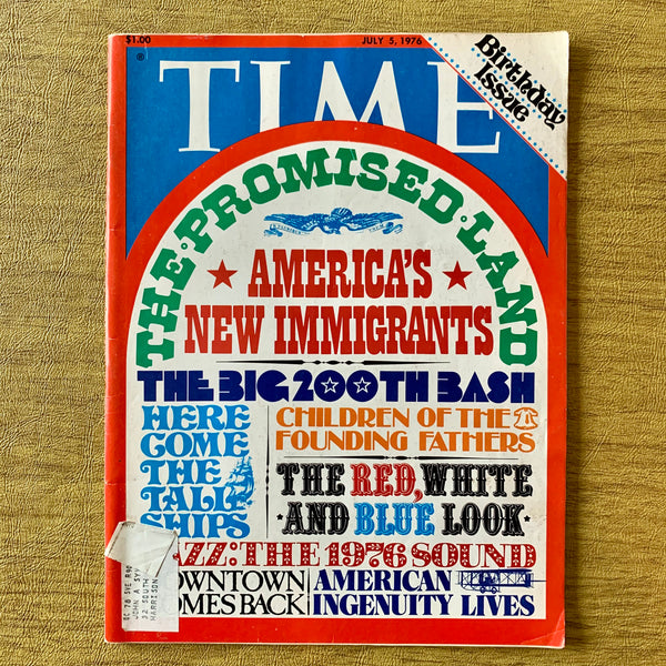 Time Magazine: The Promised Land, July 3, 1976 - Books Above the Bend
