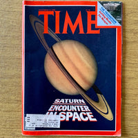 Time Magazine: Saturn, Encounter Space, November 24, 1980 - Books Above the Bend