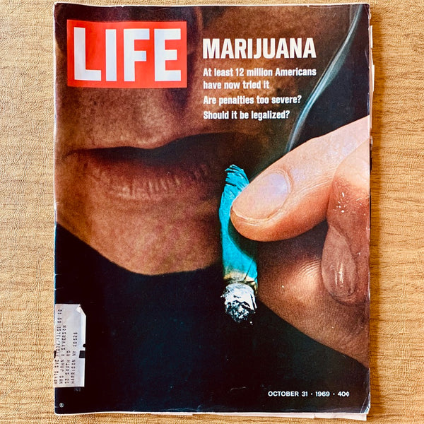 Life Magazine: Marijuana, October 31, 1969 - Books Above the Bend