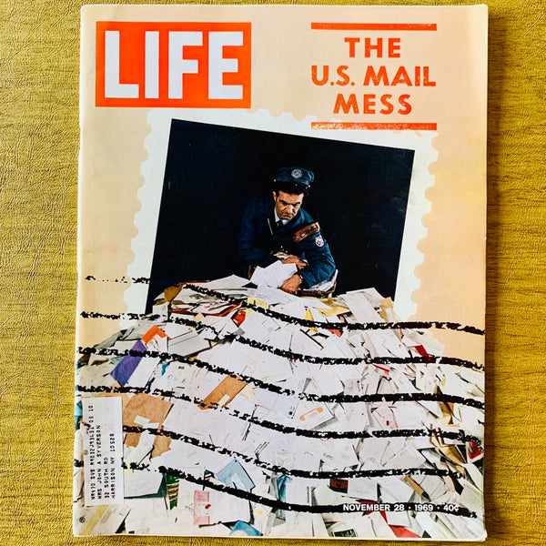 Life Magazine: The US Mail Mess, November 28, 1969 - Books Above the Bend