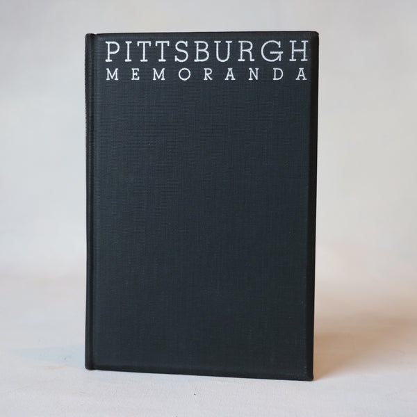 Pittsburgh Memoranda - Books Above the Bend