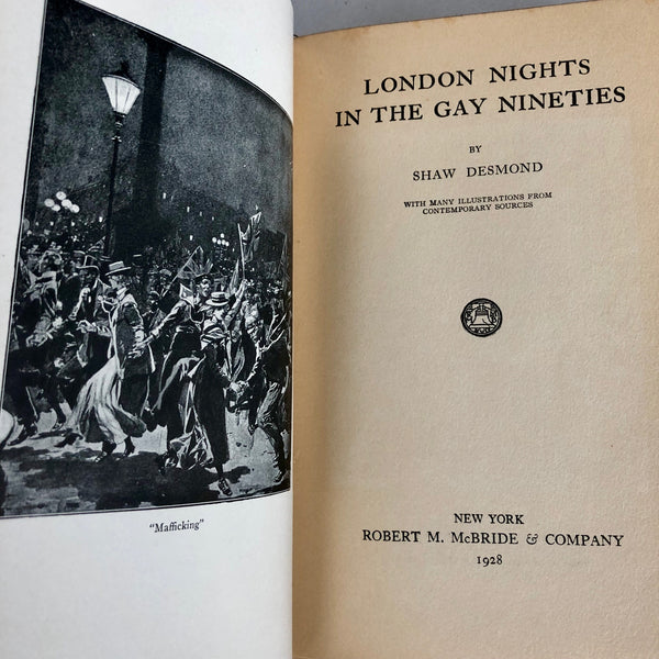 London Nights in the Gay Nineties - Books Above the Bend