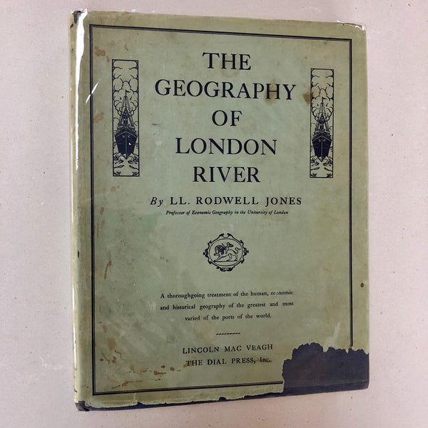The Geography of London River - Books Above the Bend