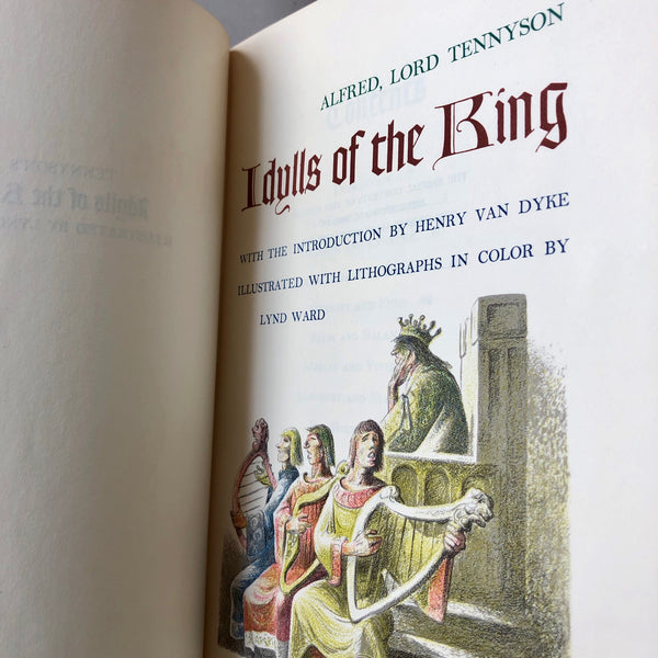 Idylls of the King - Books Above the Bend