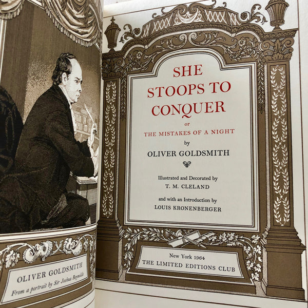 She Stoops to Conquer - Books Above the Bend