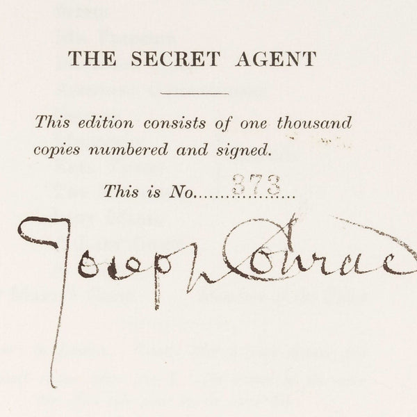 The Secret Agent - Books Above the Bend