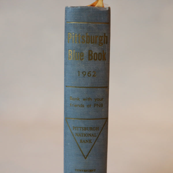 The Pittsburgh Blue Book (1962) - Books Above the Bend