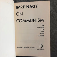 On Communism: In Defense of the New Course - Books Above the Bend
