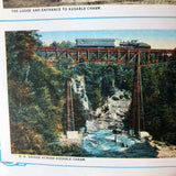Souvenir of Ausable Chasm New York - Books Above the Bend