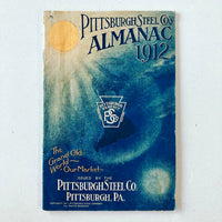 Pittsburgh Steel Co's. Almanac 1912 - Books Above the Bend
