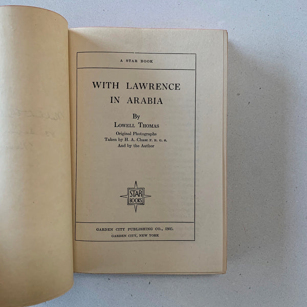 With Lawrence in Arabia - Books Above the Bend