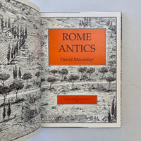 Rome Antics - Books Above the Bend