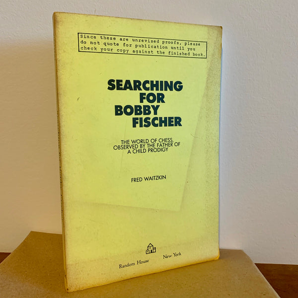 Searching for Bobby Fischer - Books Above the Bend