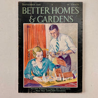Better Homes and Gardens: September 1931 - Books Above the Bend
