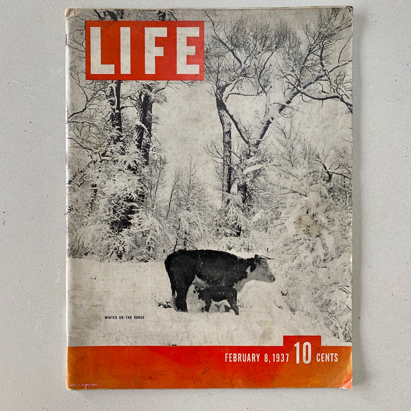 Life Magazine: February 8, 1937 (Vol. 2 No. 6) - Books Above the Bend