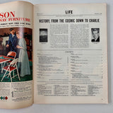 Life Magazine: December 8, 1952 (Vol. 33 No. 23) - Books Above the Bend