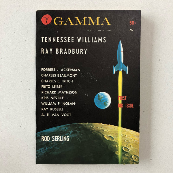 Gamma Magazine #1 - Books Above the Bend
