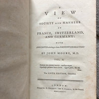A View of Society and Manners in France, Switzerland, and Germany - Books Above the Bend