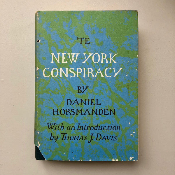 The New York Conspiracy - Books Above the Bend