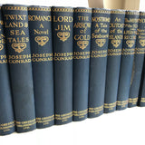 The Works of Joseph Conrad (Medallion Edition, 21 vols) - Books Above the Bend