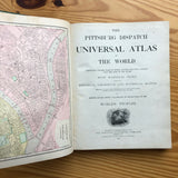 The Pittsburg Dispatch: Universal Atlas of the World - Books Above the Bend
