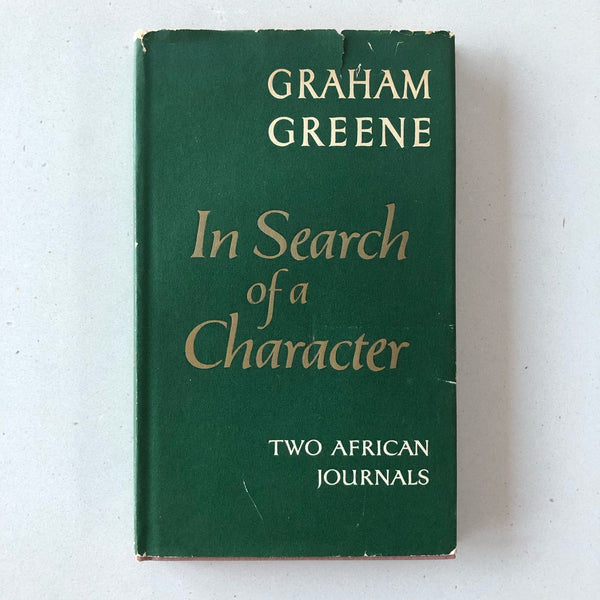 In Search of a Character - Books Above the Bend