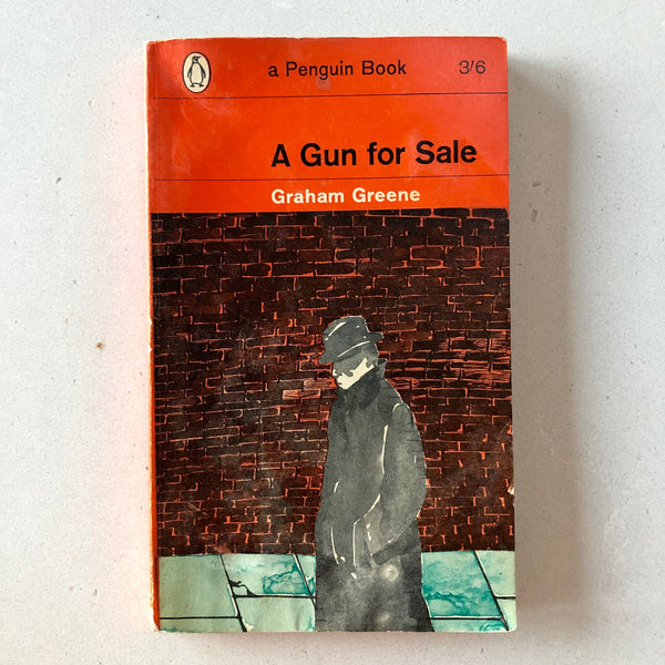 A Gun for Sale (Penguin 1896, 1st Printing) - Books Above the Bend