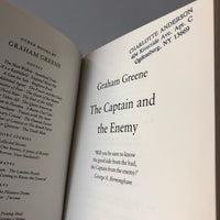 The Captain and the Enemy - Books Above the Bend