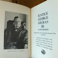 Justice George Shiras, Jr. of Pittsburgh - Books Above the Bend