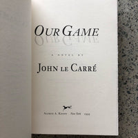 Our Game - Books Above the Bend