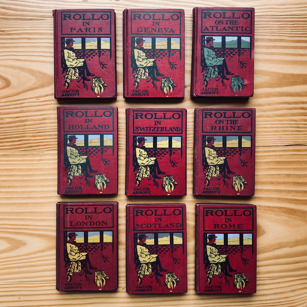 Jacob Abbott's Rollo Series (9vols) - Books Above the Bend