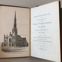 Dedicatory Services of the Third Presbyterian Church of Pittsburgh - Books Above the Bend