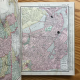 The Pittsburgh Dispatch: Universal Atlas of the World - Books Above the Bend