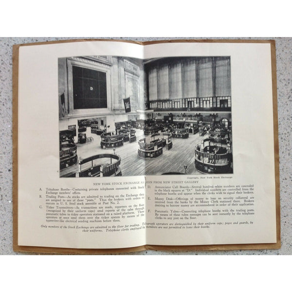 The New York Stock Exchange: History, Organization, Operation, Service - Books Above the Bend