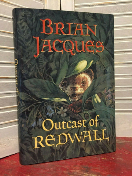 Outcast of Redwall (Signed) - Books Above the Bend