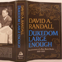Dukedom Large Enough - Books Above the Bend