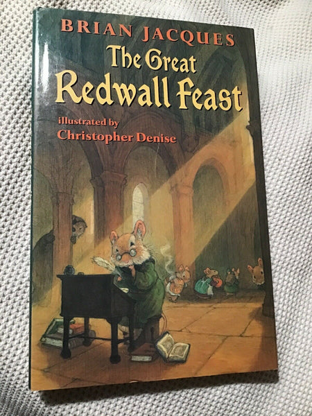 The Great Redwall Feast - Books Above the Bend
