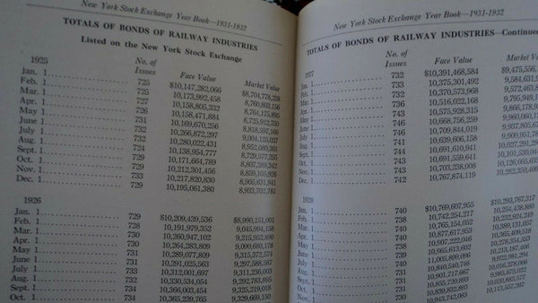 New York Stock Exchange: Year Book, 1931-1932