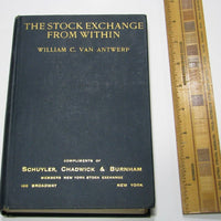 The Stock Exchange from Within - Books Above the Bend
