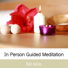 In Person Guided Meditation