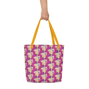 Buddha Skrippa Beach Bag