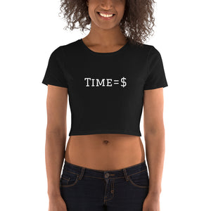 Time =$ Women's Crop Tee