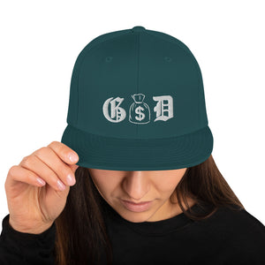 Money God Snapback Hat