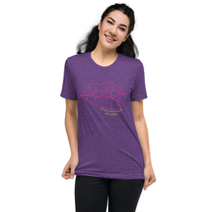 lips Short sleeve t-shirt