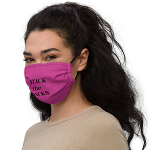 stack the racks Premium face mask