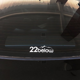 22below Window Decal