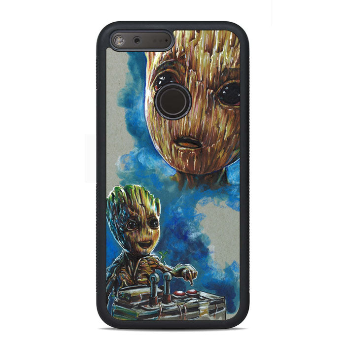 Baby Groot Art Google Pixel Xl Case Casecortez